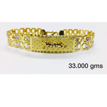 GOLD 22K/916 gents bracelet kada  RH-bT202