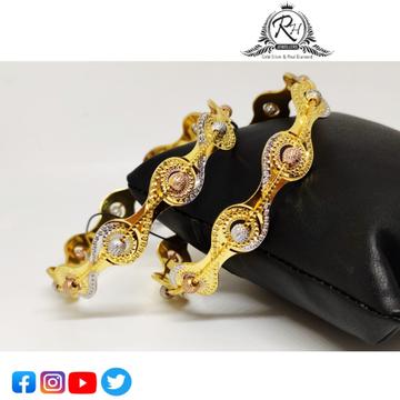 22 carat gold antiq bangles RH-LB4190