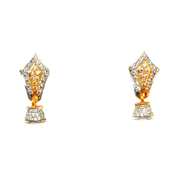 22K Gold Fancy Earrings MGA - BTG0196
