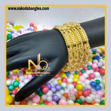 916 Gold Patra Bangles NB - 620