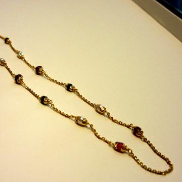 Gold 22k 916 Hallmark Antique Mala by