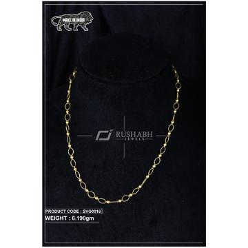 22 Carat 916 Gold Ladies swarovski Moti mala svg0018