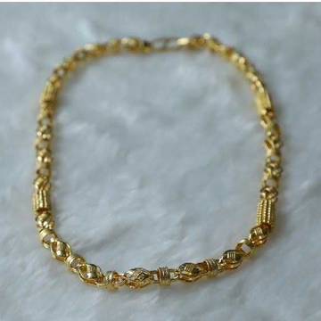 Stylish 916 Gold Gents Chain