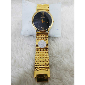 22k Gents Fancy Gold Watch G-1012