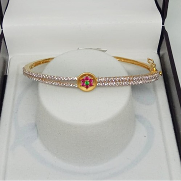 22KT Gold CZ Fancy Bracelet For Women