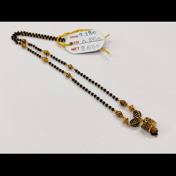 22K antique mangalsutra