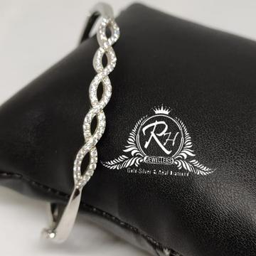 SILVER 925 ladies zigzag diamond bracelet RH-LB929