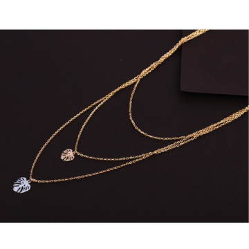 18kt rose gold hallmark exclusive necklace tanmani...