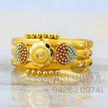 Ladies Plain Gold Kayda Ring LRG -0802