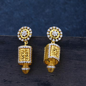 Ladies traditional jummar earrings 916-LJE19