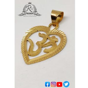 18 carat gold om pendents RH-PN364