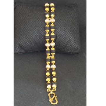 22 KT Gold Rudraksha Bracelet