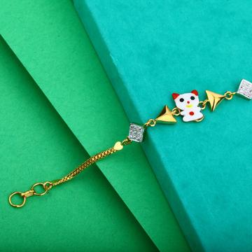 Gold 916 Bracelet-KB16