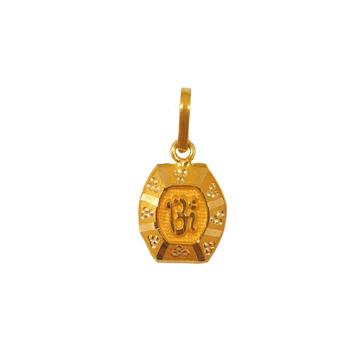 18K Gold Om Pendant MGA - PDG0197