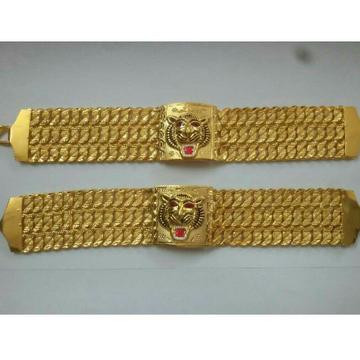 Broad 916 Gold Gents Bracelet