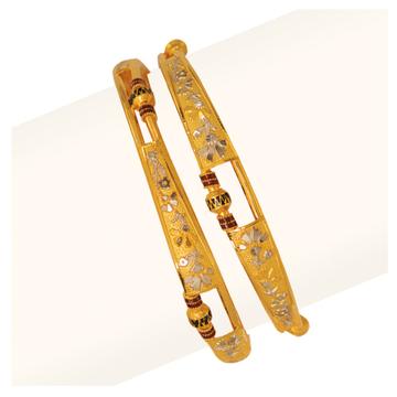 916 Gold Vakiya Copper Kadli RJV-433