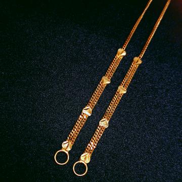 916 Gold Fancy Kanser by Ghunghru Jewellers