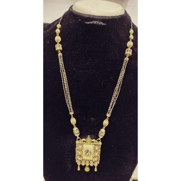 22KT Gold Antique Jadtar Long Mangalsutra