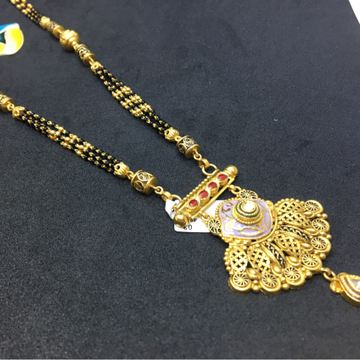 22kt antique mangalsutra