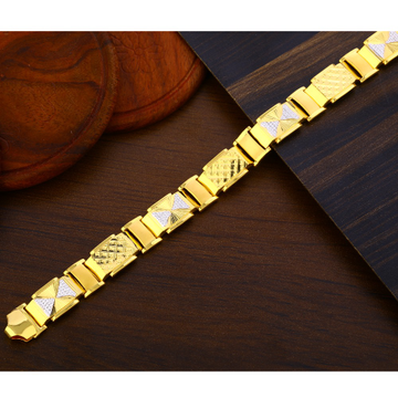 916 Gold Men's exclusive Hallmark Bracelet MPB376