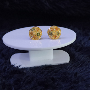 22KT/916 Yellow Gold Azyr Earrings For Women