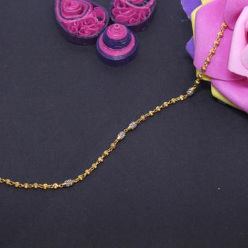 22K Hallmarked Light Weight Bracelet For Women by Simandhar Jewellers