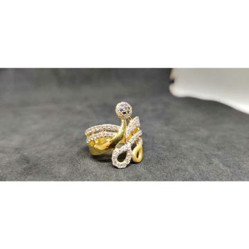22 carat ladies exclusive fancy gold ring lr- 17079