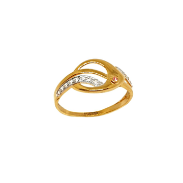 22K Gold Designer Ladies Ring MGA - LRG1093