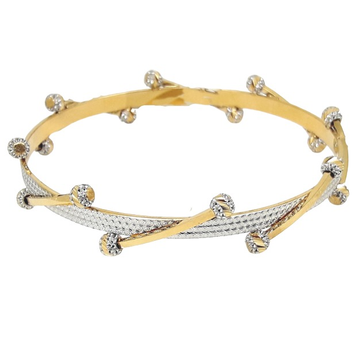 BANGLE WITH ROUND BALL DESIGN
