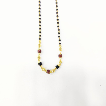 916HM GOLD ANTIQUE MANGALSUTRA by Shreeji Silver Palace