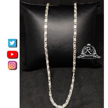 92.5 silver Stylish for men to grub gents chain RH-CH766