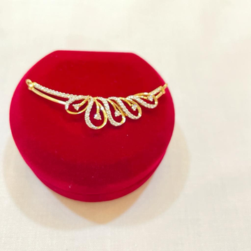 18ctdiamond mangalsutra pendent by