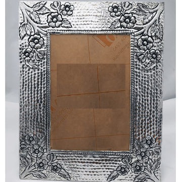 925 Pure Silver Photo Frame In Antique Nakashii wo... by Puran Ornaments