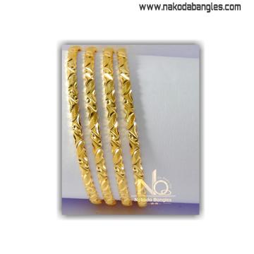 916 Gold Khilla Bangles NB - 1409