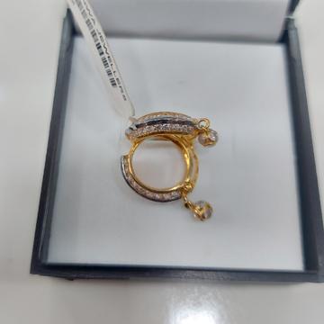 Round fancy bali by Parshwa Jewellers