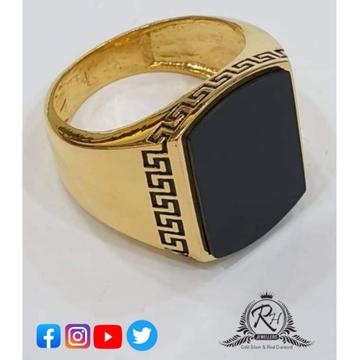 22 carat gold latest gents rings RH-GR251
