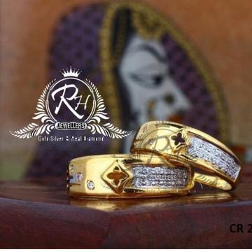 22 carat gold classic diamond rings RH-CR803