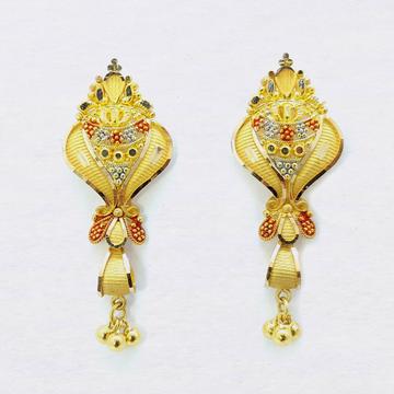 916 Gold Designer Latkan Buti With Ghughri SK-E024 by