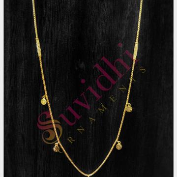 22 carat gold lightweight ladies chain 5gm