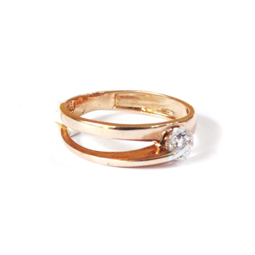 18K Rose Gold Soliter Diamond Ring MGA - RGR0028