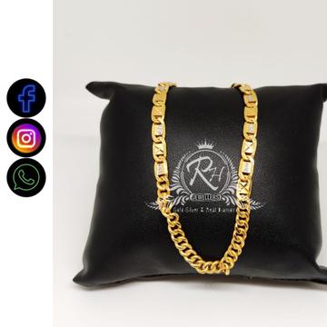 22 carat gold classical gents chain RH-CH460