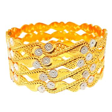 1 gram gold forming cnc cut bangles mga - bge0410