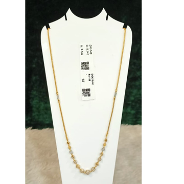 916 Gold Hallmark Stylish Pendant Chain