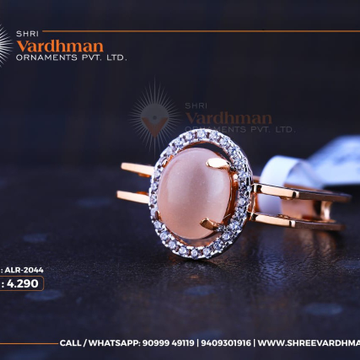 18kt rosegold ring by