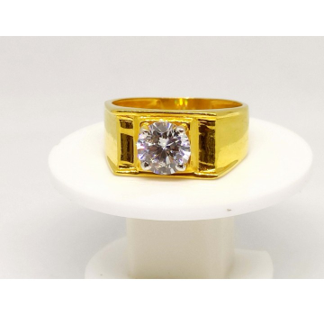22 K Gold Fancy Ring. NJ-R0746