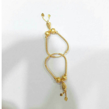 22kt Gold Modern CNC Bali by D.M. Jewellers