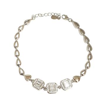 925 Sterling Silver Modern Bracelet MGA - BRS1754