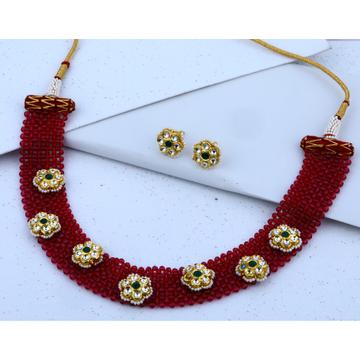 916 gold Hallmark Floral Design Necklace Set