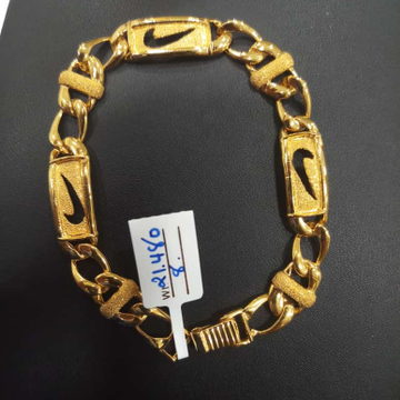 22 kt gold fancy chain by Aaj Gold Palace