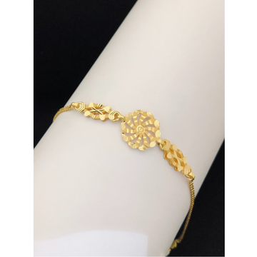 22kt, 916 Hm,  gold circular bracelet for women JKB095